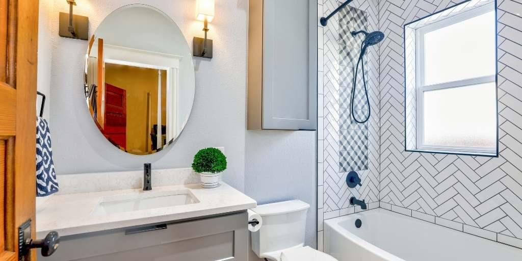 bathroom renovations layout